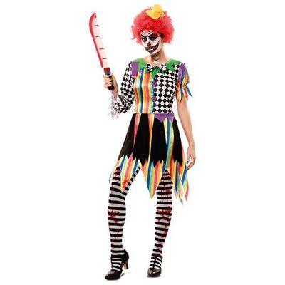 Creepy clown kostuum - dames