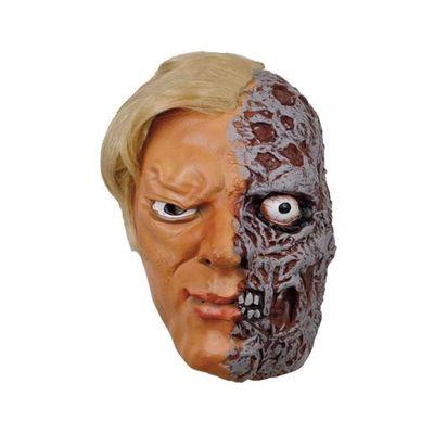 Masker half verbrand