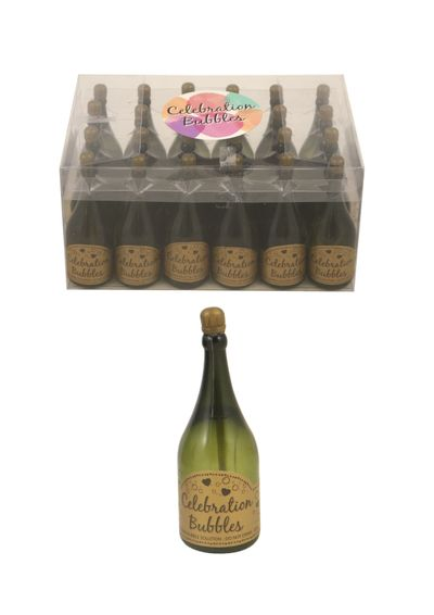 Bruiloft bellenblaas champagnefles