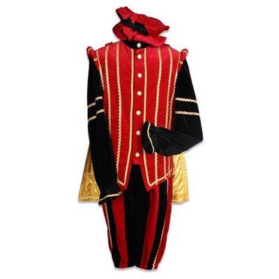 Pietenpak Marbella rood/zwart