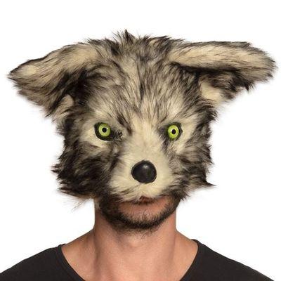 Masker weerwolf pluche