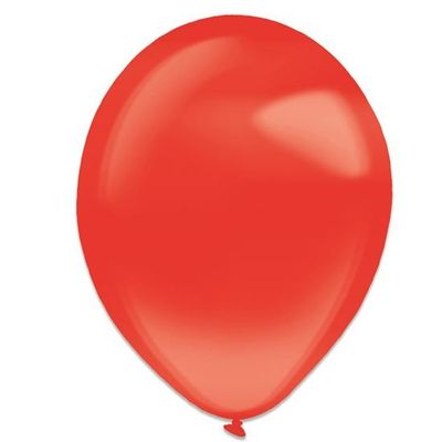 Ballonnen apple red crystal (28cm) 50st