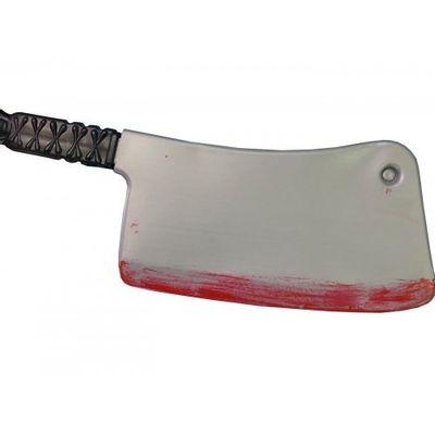 Slagersmes met bloed