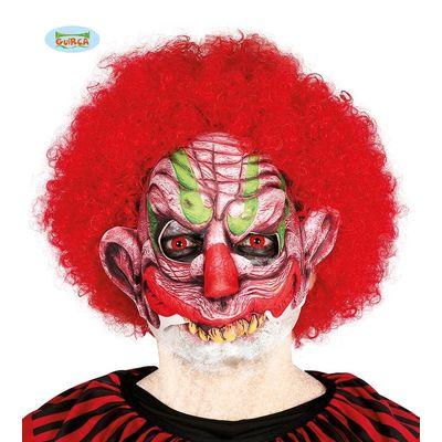 Masker horror clown half