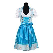 Dirndl jurk blauw luxe - Nina
