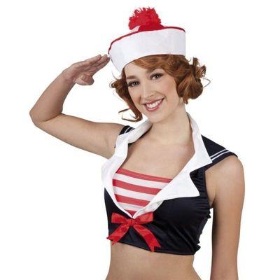 Pet Marine rood/wit