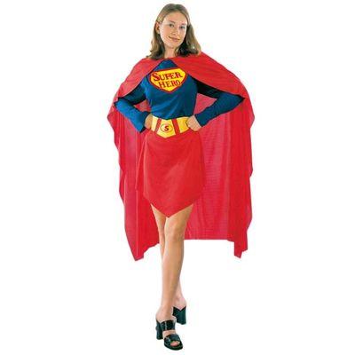 Superheld vrouw kostuum