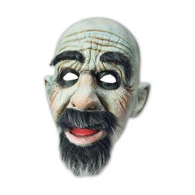 Masker man met baard