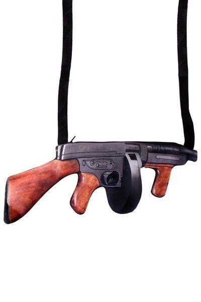 Schoudertas Machinegeweer