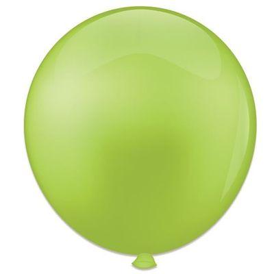 Topballon limoengroen (91cm) 6st