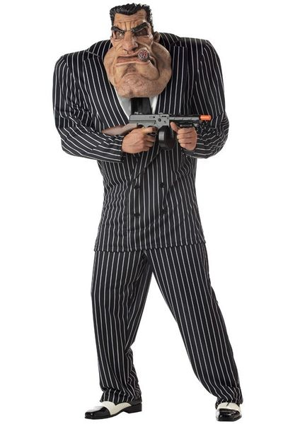 Maffiabaas Big Tony kostuum