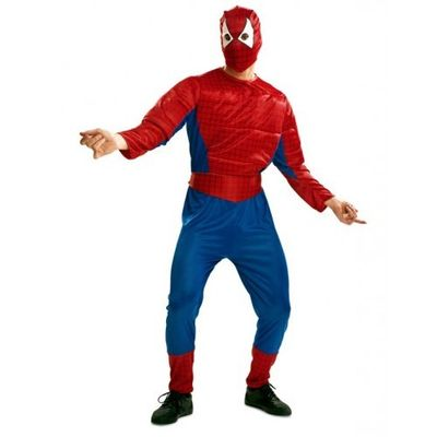 Gespierd Spiderman kostuum