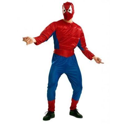 Foto van Gespierd Spiderman kostuum