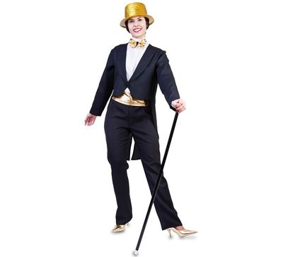 Circusdirecteur kostuum dames