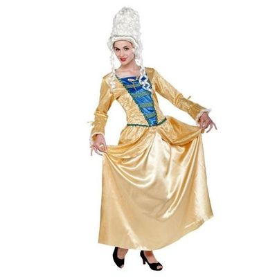 Foto van Middeleeuwse jurk - hofdame (Marie Antoinette)