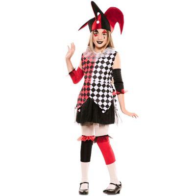 Foto van Harlekijn kostuum kind
