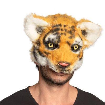 Masker tijger pluche