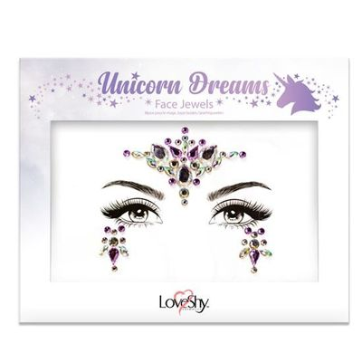 Foto van Face jewels Unicorn