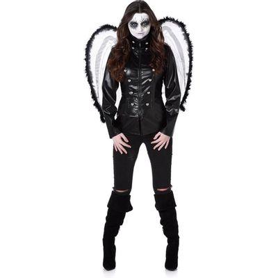 Foto van Gothic engel kostuum
