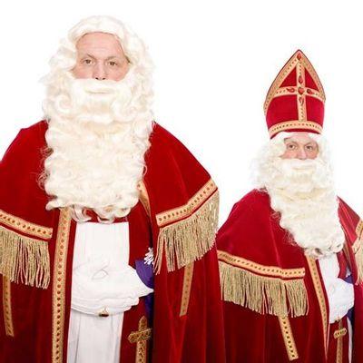 Foto van Sinterklaas baard P nieuw kanekalon