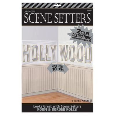 Hollywood wanddecoratie