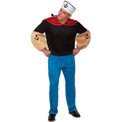 Foto van Popeye kostuum luxe