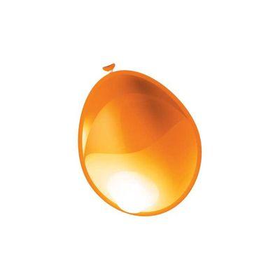 Foto van Ballonnen metallic Oranje (35cm) 50st