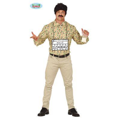 Foto van Pablo Escobar kostuum