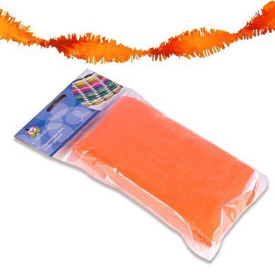 Crepe slinger neon oranje 6m
