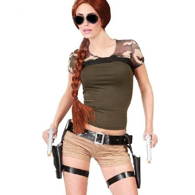 Foto van Tomb Raider Lara Croft Holster set
