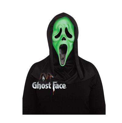 Scream masker Glow in the dark