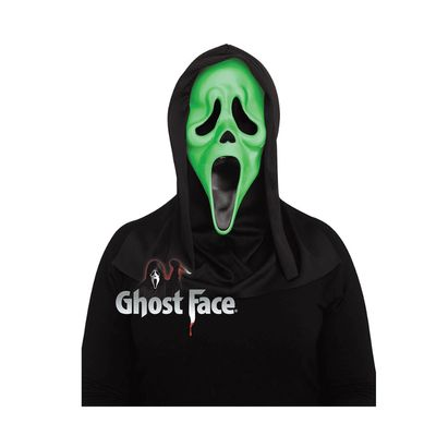 Foto van Scream masker Glow in the dark