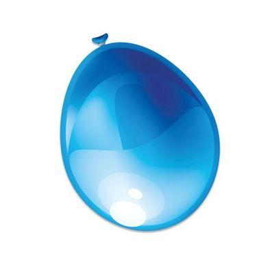 Ballonnen metallic blauw (30cm)