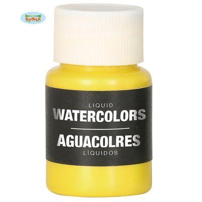 Body paint op waterbasis - geel