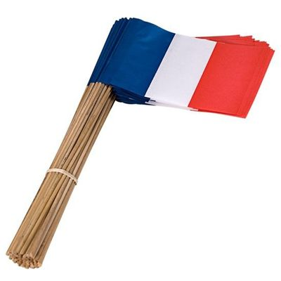 Zwaaivlaggetjes Frankrijk