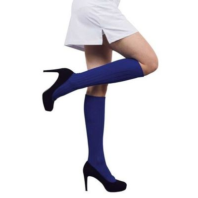 Foto van Voetbalsokken blauw