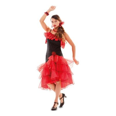 Spaanse jurk flamenco