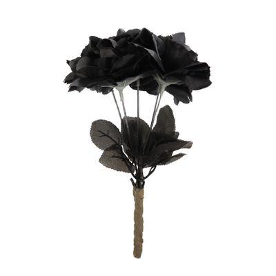 Zwarte rozen boeket