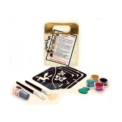 Foto van Glitter tattoo set fun