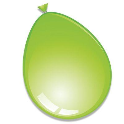 Ballonnen Limegroen 10st