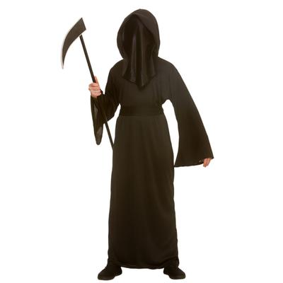 Foto van Grim reaper kostuum met kap