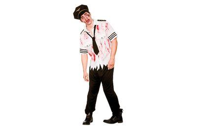 Zombie piloten kostuum