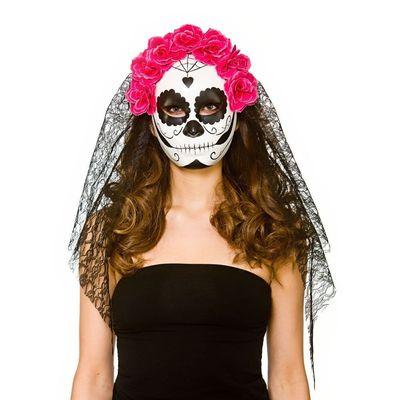 Day of the death masker meisje