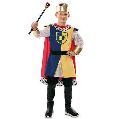 Foto van Middeleeuwse koning kostuum kind