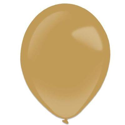 Ballonnen mocha brown (28cm) 50st
