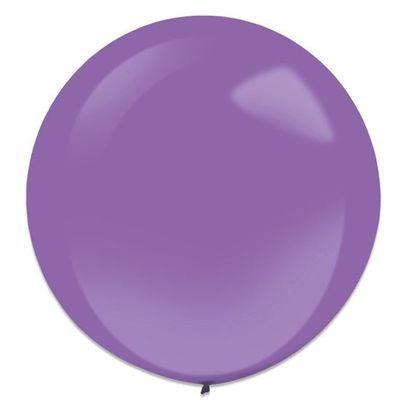 Foto van Ballonnen new purple (60cm) 4st
