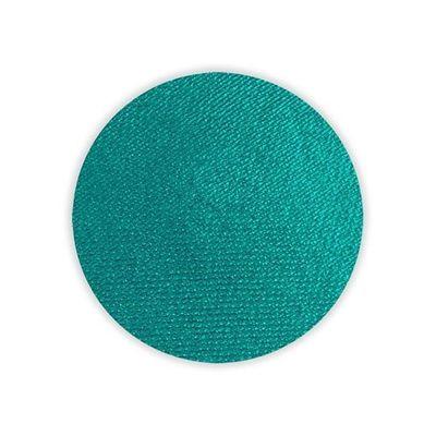 Superstar schmink waterbasis pauw groen shimmer (45gr)
