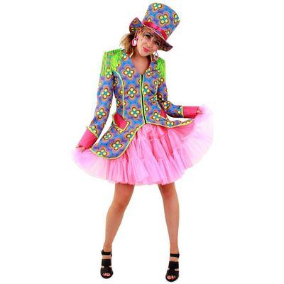 Carnavalsjas dames - Flower power
