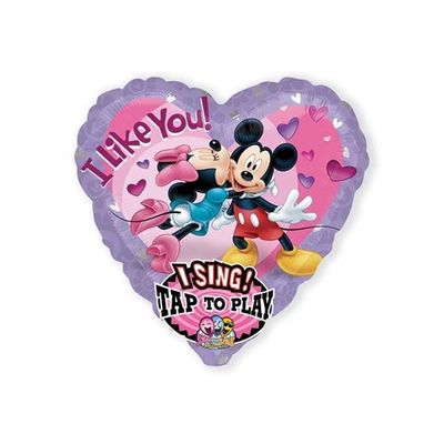 Folieballon Mickey & Minnie muziek