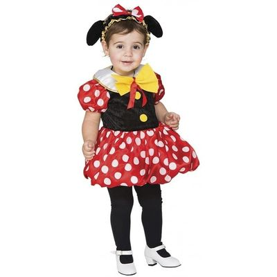 Foto van Minnie Mouse kostuum kind